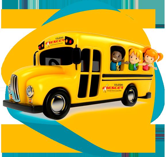 Transporte escolar próprio!
